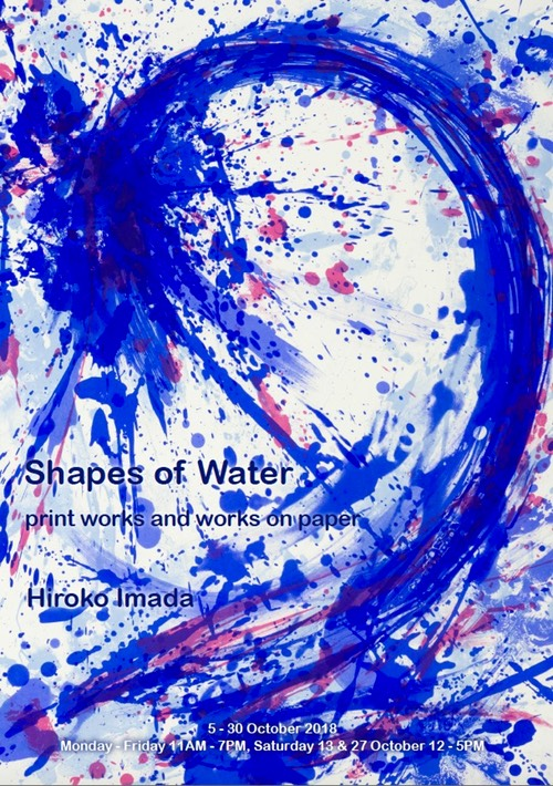 Shapes of Water Flyer Front