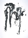Monochrome Ⅳ, Lithograph, 90.5X70.0cm, April 1992